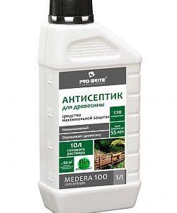 Антисептик для древесины Medera 100 срок защиты до 55 лет (5 л) концентрат 1:10