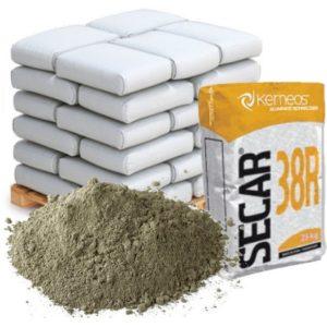 Цемент глиноземистый Secar 38R (аналог ГЦ-50) мешок 25 кг